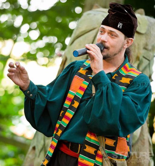African storyteller's hat!